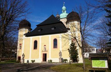 Die historische Altstadt von Horní Blatná