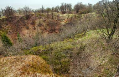 Důlní revír Komáří hůrka a kaple sv. Wolfganga