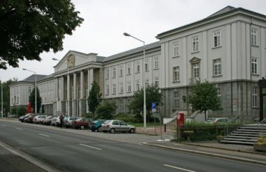 Wismut Administrative Centre in Chemnitz