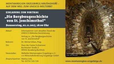 """Vortrag """"Die Bergbaugeschichte von St. Joachimsthal"""""""