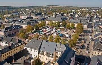Die historische Altstadt von Marienberg