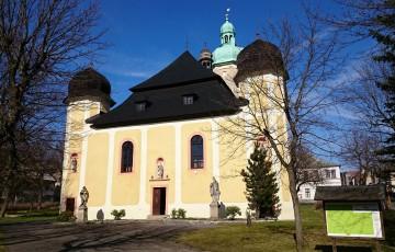 Historické centrum města Horní Blatná