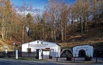Důlní revír Steinknochen a štola Starý Martin