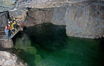 Vereinigt Zwitterfeld zu Zinnwald Mine