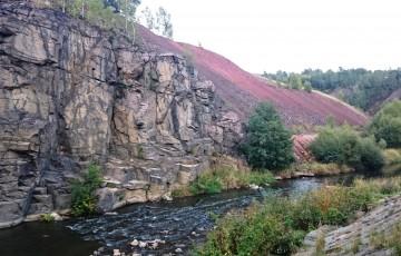 Freiberger Mulde River