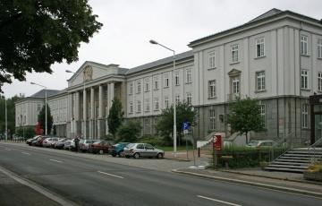 Ředitelství podniku Wismut v Chemnitz