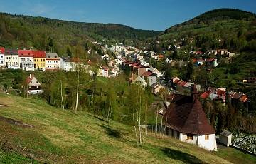 Montanlandschaft Jáchymov