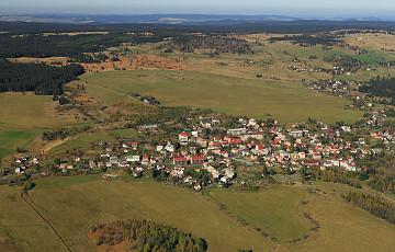Montanlandschaft Abertamy – Boží Dar – Horní Blatná