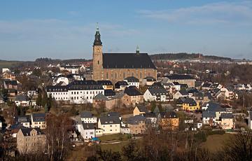 Hornická krajina Schneeberg