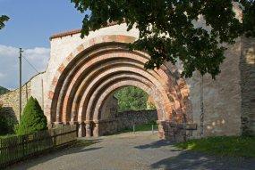 Hornická krajina Gersdorf a klášter Altzella
