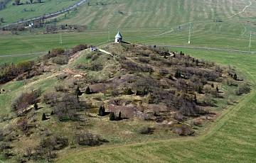 Montanlandschaft Vrch Mĕdník (Kupferberg)