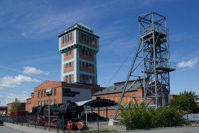 Hornická oblast těžby černého uhlí